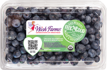 Image of Wish Farms Blueberry Organic Clamshell