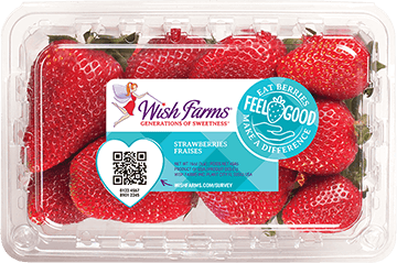 Image of Wish Farms Strawberry Clamshell