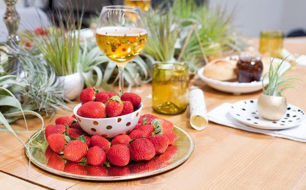 Wish Farms Strawberries and Champagne