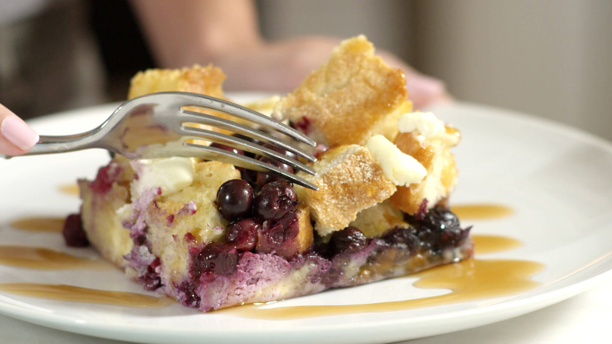 Blueberry Breakfast Casserole