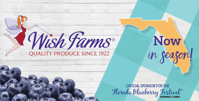 Wish Farms Official Sponsor Florida Blueberry Festival