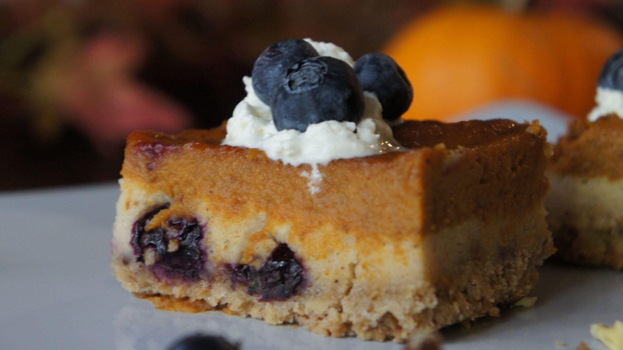 Wish Farms Blueberry Pumpkin Spice Bar Recipe