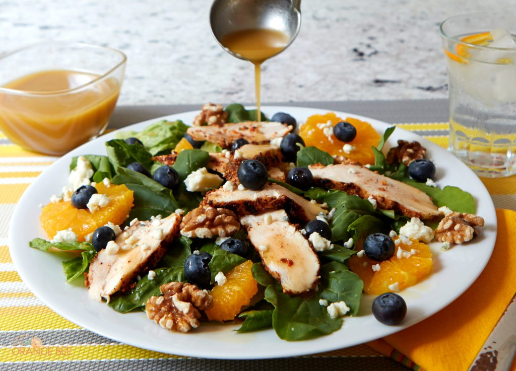 Grilled Chicken Blueberry Salad Wish Farms Recipes