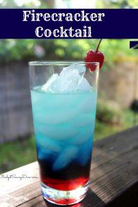 Firecracker Cocktail #wishfarms @budgetsavydiva #fourthofjuly