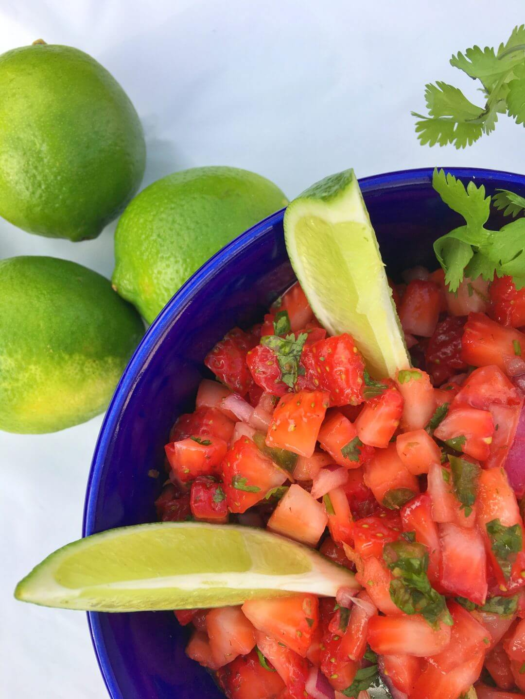 Berrytastic Fiesta Salsa Wish Farms Strawberries