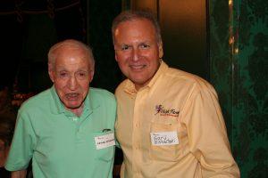 Lester Wishnatzki with his nephew and current President of Wish Farms, Gary Wishnatzki (2011)
