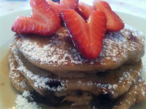 A Bouquet of Strawberries & Pancakes @wishfarms @mariaprovenzano