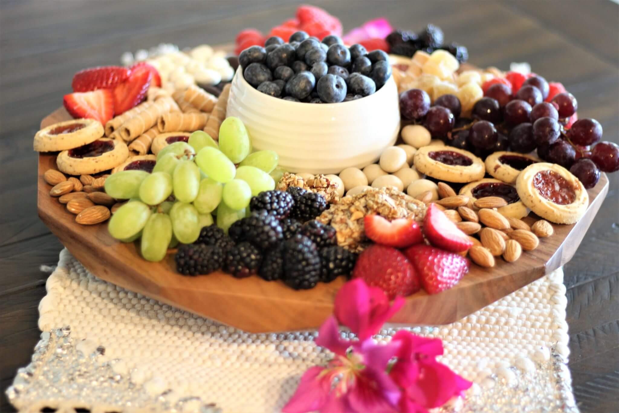 Springtime Grazing Platter Wish Farms Recipes