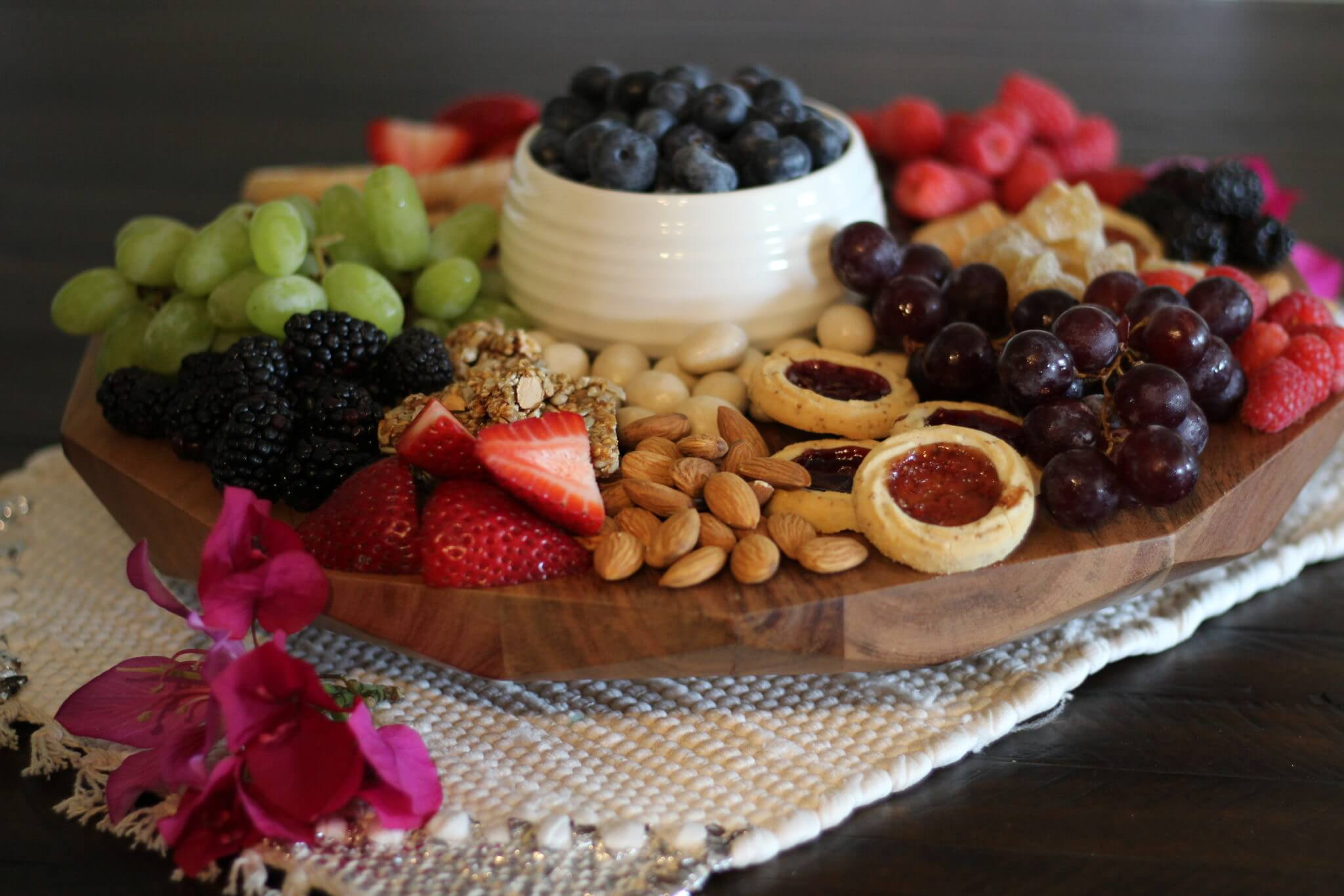 Wish Farms Strawberries Grazing Platter