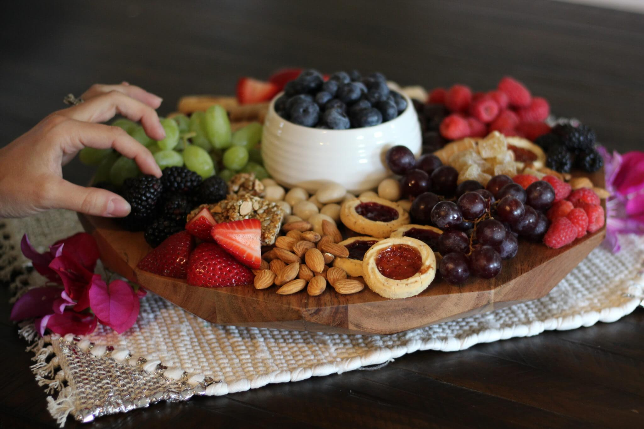 Grazing Party Platter Foods Wish Farms Berries
