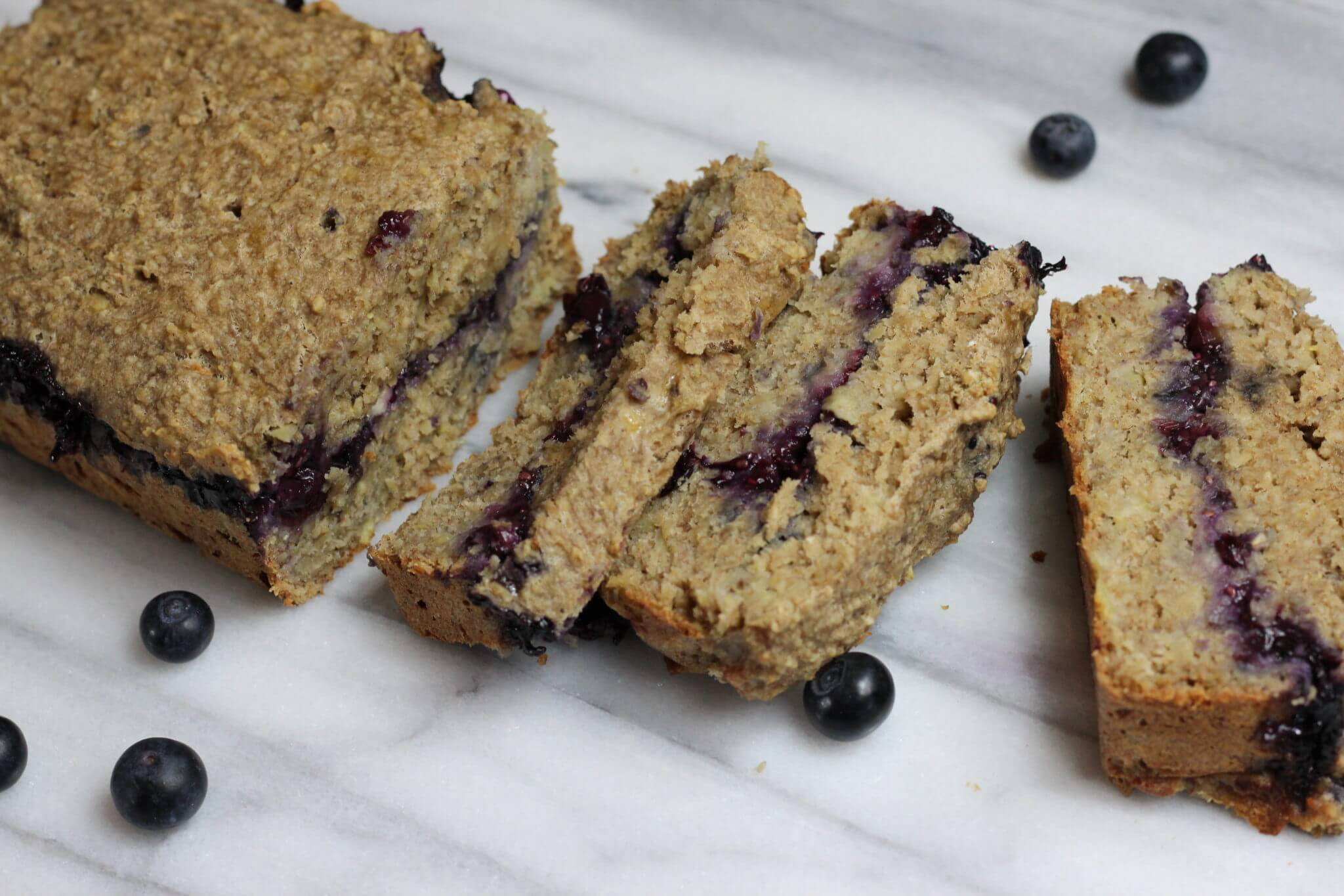 Stuffed Blueberry Banana Bread Wish Farms Recipe