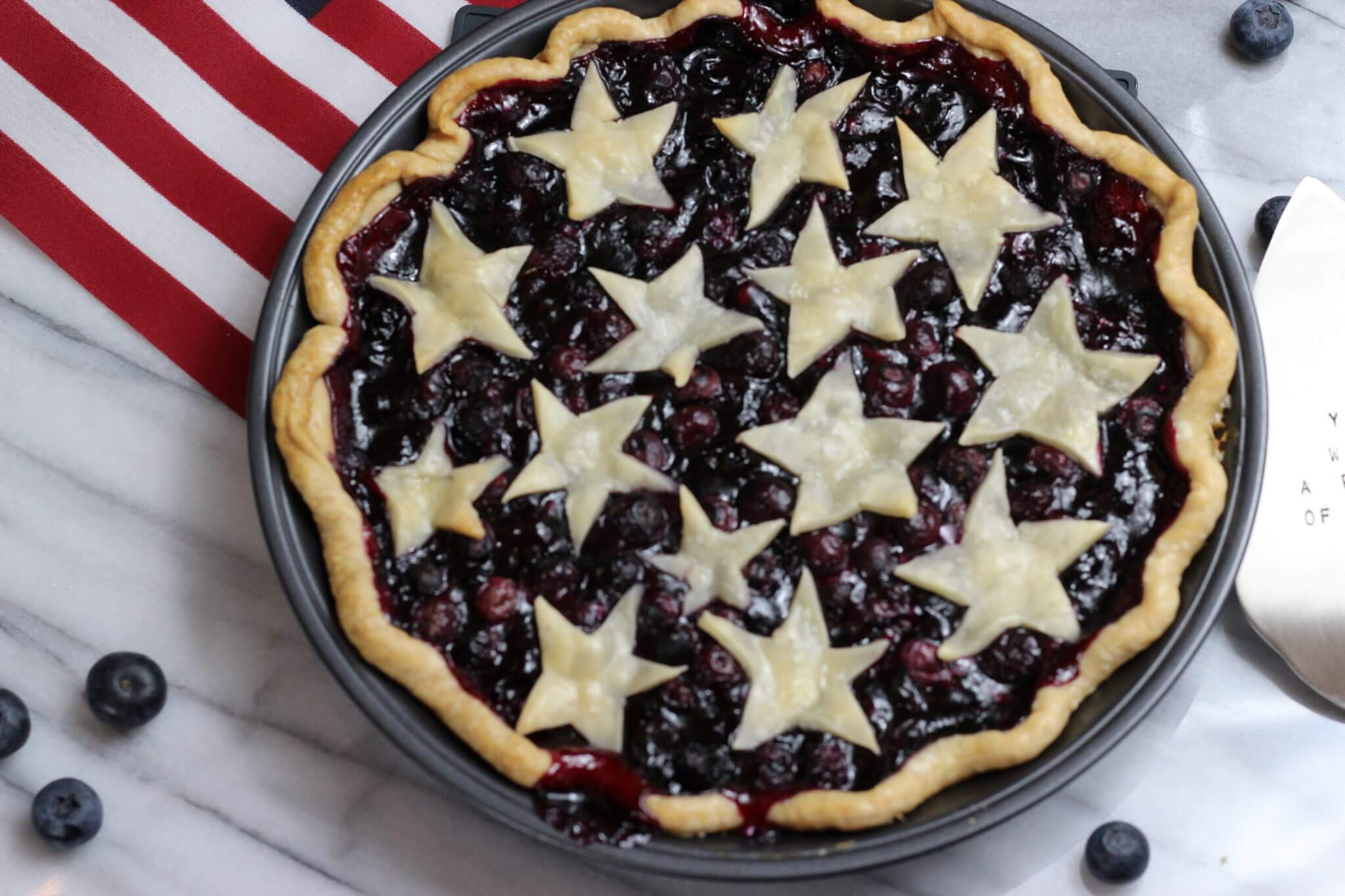 Patriotic Berry Pie