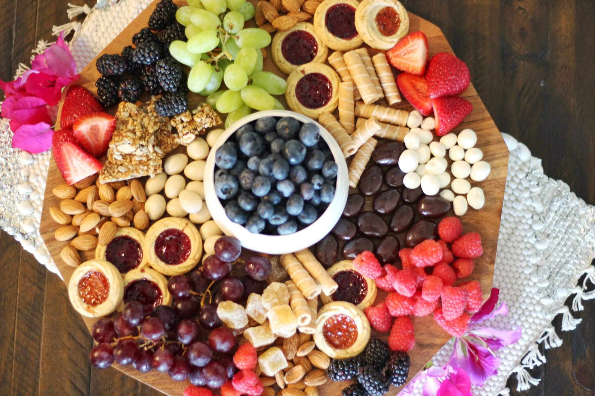 Grazing Platter Party Foods Wish Farms Berries