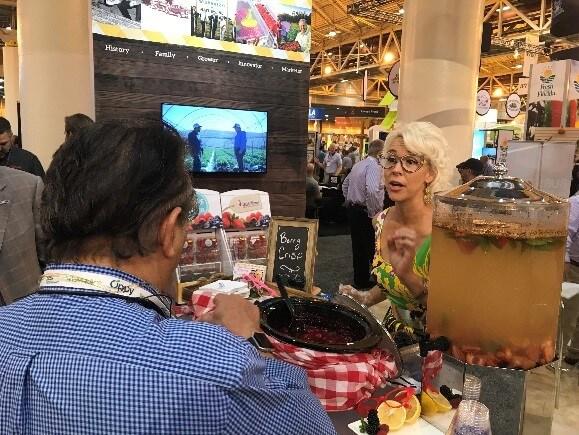 Emily Ellyn Wish Farms Florida Raspberry Tasting Event