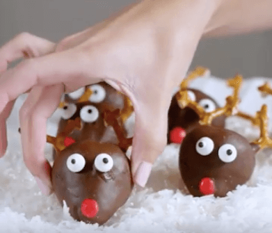 Cute Strawberry Rudolph Recipe Wish Farms