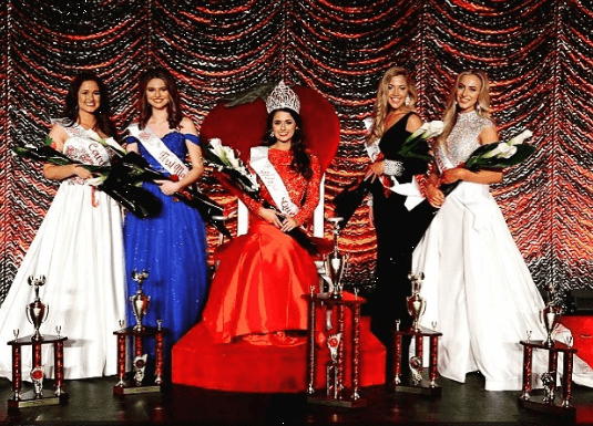 2018 Florida Strawberry Festival Queen and Court
