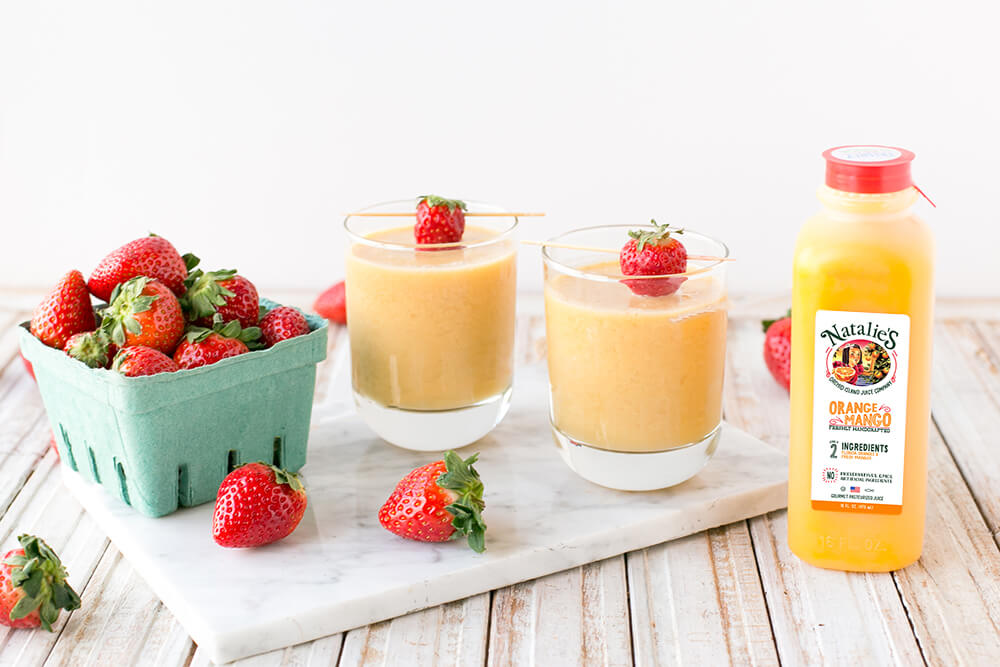 Strawberry Orange Mango Smoothie Wish Farms