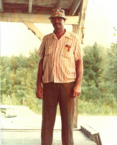 Big Willie at the Wish Farms packing house in 1976