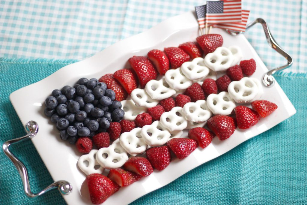 4th of July Berry Display Flag
