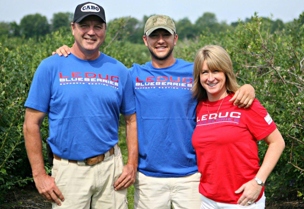 Leduc Blueberries Wish Farms Partnership