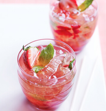 Strawberry Cocktail Recipe From Florida & California Strawberry Grower Wish Farms