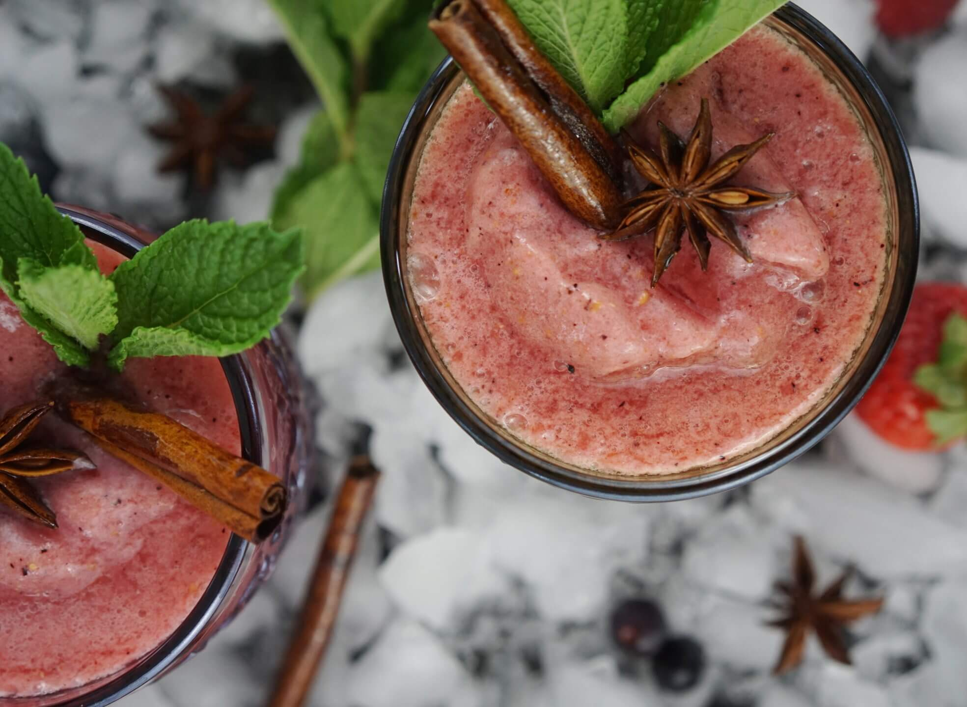 Spiced Berry Horchata