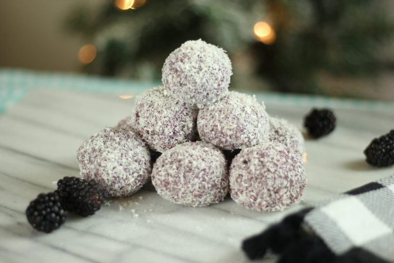 Blackberry Snowballs